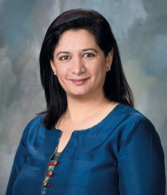 Leena Dandekar, principal of the Raintree family office