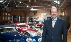 Dominic Riley, non-family chairman of the Morgan Motoring Company