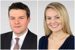 Duncan MacInnes, investment director, and Fiona Ker, senior investment associate, at Ruffer LLP