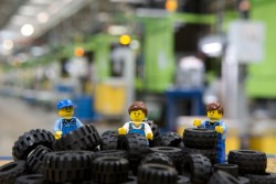 Lego, a family business, is the world's biggest producer of tyres